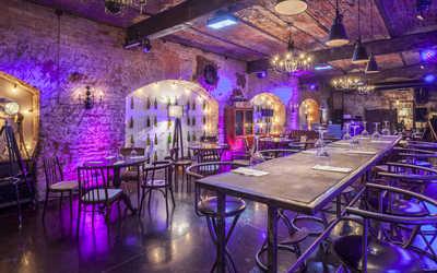 Банкетный зал ресторана 12 wine bar на Кутузовском проспекте фото 2