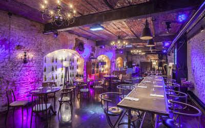 Банкетный зал ресторана 12 wine bar на Кутузовском проспекте фото 3