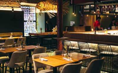 Банкетный зал ресторана Buba by Sumosan на улице Льва Толстого фото 2