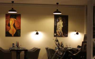 Банкетный зал ресторана Модильяни на Малой Десятинной улице фото 3