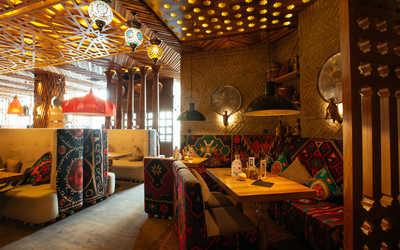 Банкетный зал ресторана Чайхона №1 Тимура Ланского на Новом Арбате фото 2