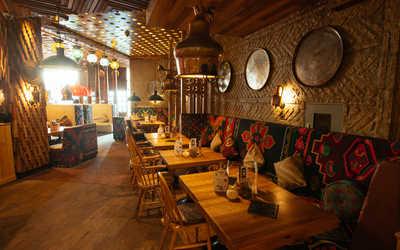 Банкетный зал ресторана Чайхона №1 Тимура Ланского на Новом Арбате фото 3