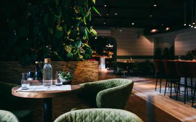 Банкетный зал ресторана Зеленый сад на Ижорской фото 1