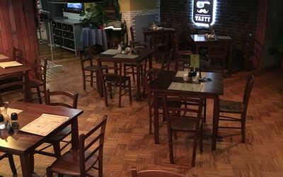 Банкетный зал ресторана The Батя (The Batya) на набережной реки Фонтанки фото 2