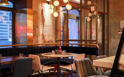Банкетный зал ресторана Бургер и Пиццетта (Burger & Pizzetta) на Большой Никитской фото 2