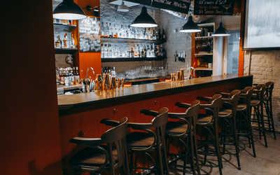 Банкетный зал бара Дистиллят на Маяковского фото 3