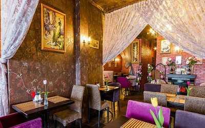 Банкетный зал ресторана Аладастури на Туристской фото 1