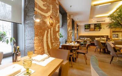 Банкетный зал ресторана Бокончино (Bocconcino) в Большом Патриаршем переулке фото 2