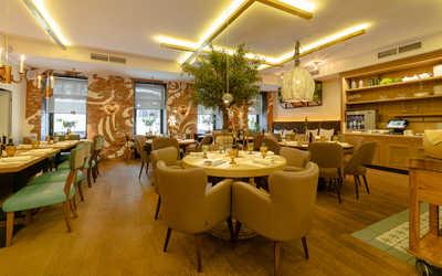 Банкетный зал ресторана Бокончино (Bocconcino) в Большом Патриаршем переулке фото 3