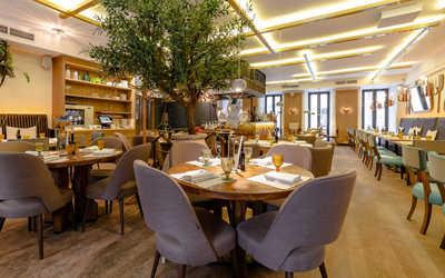 Банкетный зал ресторана Бокончино (Bocconcino) в Большом Патриаршем переулке фото 1