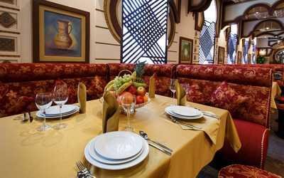 Банкетный зал ресторана Чайхана Тархун на улице Мневники фото 2