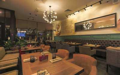 Банкетный зал кафе Батони на улице Кржижановского фото 1