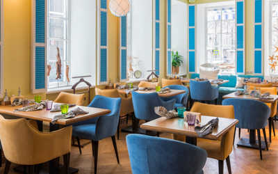 Банкетный зал ресторана Черетто море на Пятницкой улице фото 2