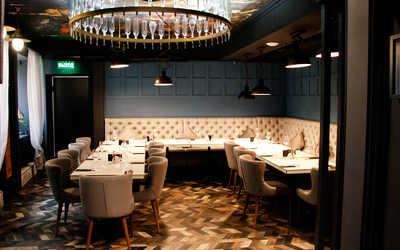 Банкетный зал ресторана Grandcafe 18/53 (Гранд Кафе 18 53) на Лиговском проспекте фото 2