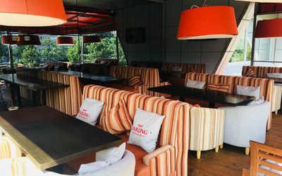 Банкетный зал ресторана Дарлинг на проспекте Энгельса фото 2
