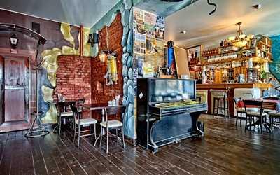 Банкетный зал кафе Коммунальная страна на Кронверкском проспекте фото 3