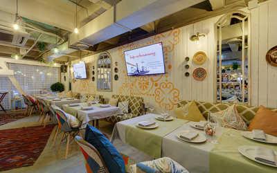 Банкетный зал ресторана Чайхана Чабрец на Аптекарской набережной фото 2