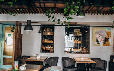Банкетный зал кафе Тимьян на улице Пушкина фото 2