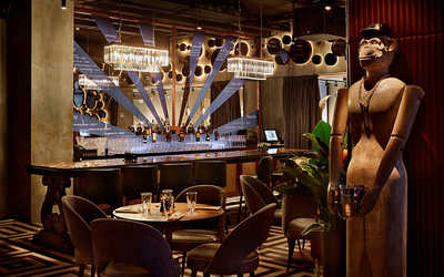 Банкетный зал ресторана ДНК на Рочдельской фото 3