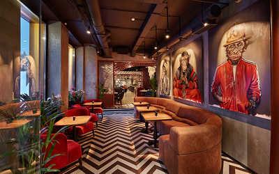Банкетный зал ресторана ДНК на Рочдельской фото 2