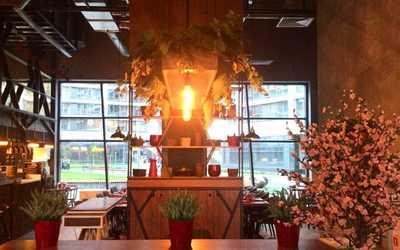Банкетный зал ресторана Амарена (Amarena) на Ходынском бульваре фото 2