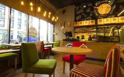 Банкетный зал ресторана Chorizo Pizza (Чоризо Пицца) на улице Академика Павлова фото 1