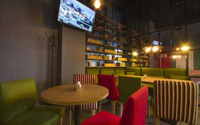 Банкетный зал ресторана Chorizo Pizza (Чоризо Пицца) на улице Академика Павлова фото 3