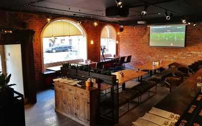 Банкетный зал пивного ресторана Brewmen & Redman's Kitchen на Разъезжей фото 1