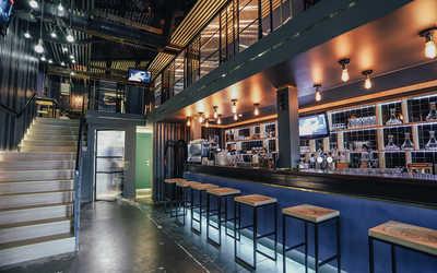 Банкетный зал бара Angar (Ангар) на Полевой фото 2