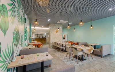 Банкетный зал кафе Green Heart на проспекте Народного Ополчения фото 2