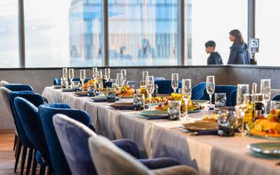 Банкетный зал ресторана 360 на Пресненской набережной фото 3