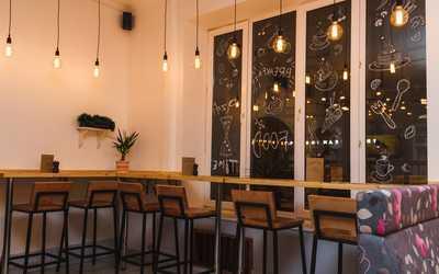 Банкетный зал кафе Кафедра Вкуса на 7-ой Красноармейской фото 3