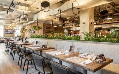 Банкетный зал ресторана Джонджоли на Малой Сухаревской площади фото 2