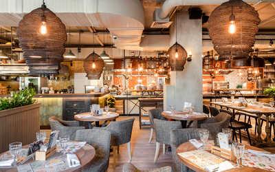 Банкетный зал ресторана Джонджоли на Малой Сухаревской площади фото 1