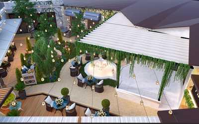 Банкетный зал ресторана Stephania Garden (Стефания Гарден) на Кубанской Набережной фото 3