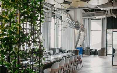 Банкетный зал ресторана Полёт на Ходынском бульваре фото 2