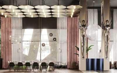 Банкетный зал ресторана Полёт на Ходынском бульваре фото 3